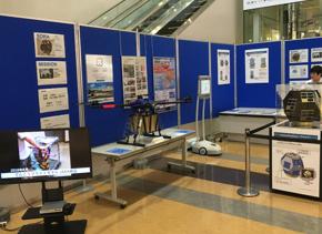 大分空港での展示(2019.8~9月)